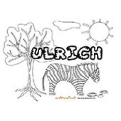 Ulrich, coloriages Ulrich