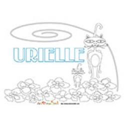 Urielle, coloriages Urielle