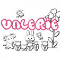 Valerie, coloriages Valerie