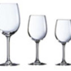 Les verres de table