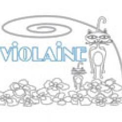 Violaine, coloriages Violaine