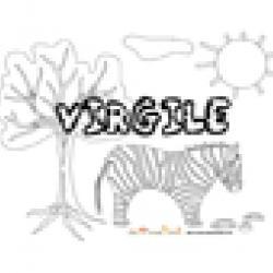 Virgile, coloriages Virgile