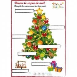 Solution jeu vocabulaire de Noël