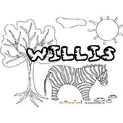 Willis, coloriages Willis
