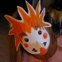 Masque de sorciére à réaliser dans 7 ans