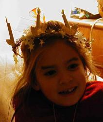 Fabriquer une couronne de Sainte Lucie
