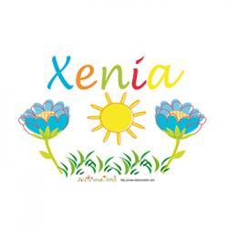 prénom Xenia