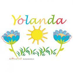 prénom yolanda