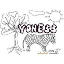 Yoness, coloriages Yoness