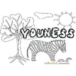 Youness, coloriages Youness