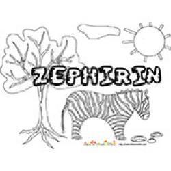 Zephirin, coloriages Zephirin