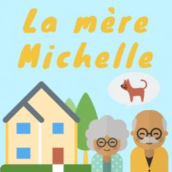 """Imprimez gratuitement les paroles de la chanson """"La mère michelle"""" afin de la chanter en famille avec les enfants."""