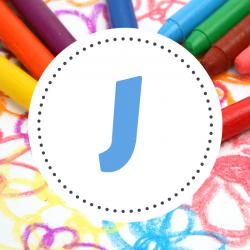 Coloriage prénoms J