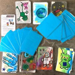 tuto bricolage jeu de cartes mistigri enfants