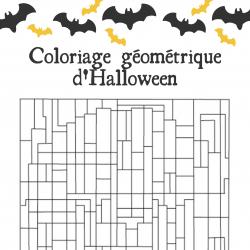 Selon la consigne donnée il faut colorier tous les triangles ou tous les rectangles. Des jeux pour manipuler les formes géométriques. Des jeux pour amuser les enfants et parler d'Halloween. Imprimez les jeux sur le thème d'Halloween , jeux gratuits