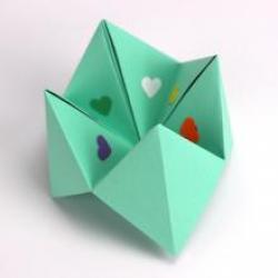 Jouet en origami