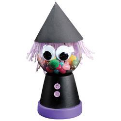 Une boîte à bonbons sorcière à réaliser pour Halloween