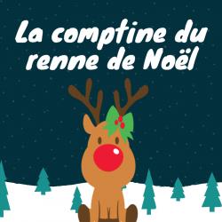 La comptine du renne de noel est une chanson d'hiver qui sera très drole à faire pour noel. Apprenez la en famille et chantez la en decembre sur les marches de noel.