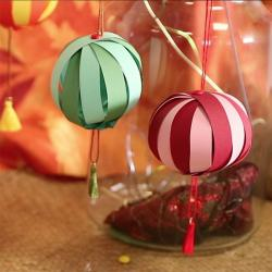 Un tuto pour réaliser une lanterne chinoise pour le nouvel an chinois