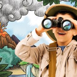 Si votre enfant est fan de dinosaures, il va adorer être le héros de l'histoire « Ma mission dinosaures » d'Epopia.