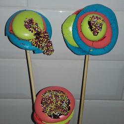 Une recette originale de meringue macarons pour le carnaval