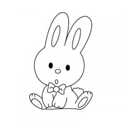 Collection de dessins de lapins à colorier pour Pâques. Ces coloriages de lapins de Pâques sont à imprimer pour préparer Pâques avec les enfants ou pour les occuper pendant les vacances de Pâques.