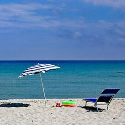 Parasol à la plage