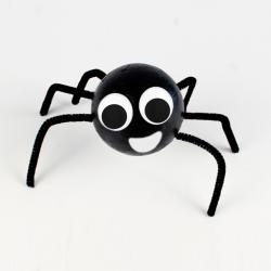 Retrouvez toutes les activités et bricolages faciles à faire autour des araignées d'Halloween