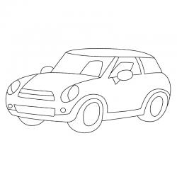 Tous les coloriages de voitures classiques ou voitures de ville à imprimer pour les enfants. Retrouvez les voitures classqiues avec des reproductions exactes de modèles existants comme des coloriages de petites voitures enfantines aux formes plus rondes e