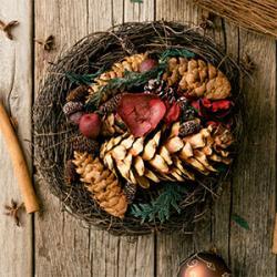 Les couronnes de Noël dans le monde : couronnes de l'Avent, couronne de St Lucie, couronnes de bienvenue, histoires et traditions. L'une des traditions les plus répandues est la confection de couronnes pour Noël. Les couronnes