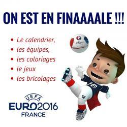 EURO 2016, Coupe d'Europe 2016, Championnat d'Europe de football 2016