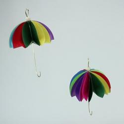 Parapluies en papier à réaliser