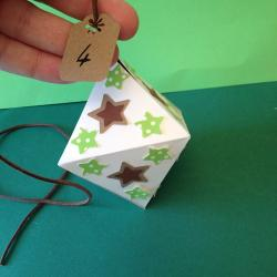 Un tuto pour apprendre à réaliser un losange en origami