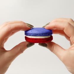 Comment faire des macarons tricolores, bleu, blanc et rouge, pour la Fête nationale ?  Cette recette typique française est parfait pour le 14 juillet.