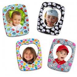 Des magnets à personnaliser et à décorer avec les enfants. Une bonne idée pour la rentrée.