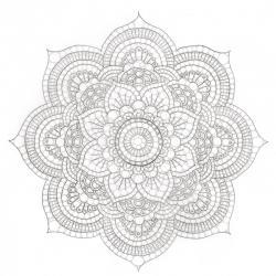 Voici des mandalas complexes et difficiles à colorier. Ces mandalas sont destinés aux grands et aux enfants ayant déjà une bonne dextérité. La difficulté et la complexité de ces mandalas sont liés à forme des motifs, à la taille des motifs et à la quantit