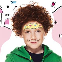 Maquillage de prince avec Snazaroo