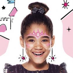 Maquillage de princesse de conte