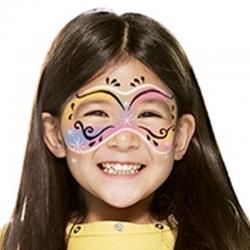 Maquillage masque de Carnaval avec Snazaroo