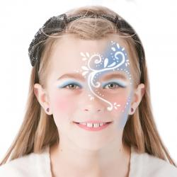 Maquillage Reine des Neiges
