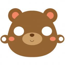 Un joli masque d'ours à imprimer pour le Carnaval afin d'avoir un déguisement rapide. Il vous suffira de l'imprimer sur du papier épais afin d'avoir un déguisement très mignon pour le Carnaval.