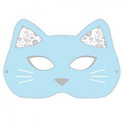 Un masque de chat à imprimer gratuitement pour le Carnaval.