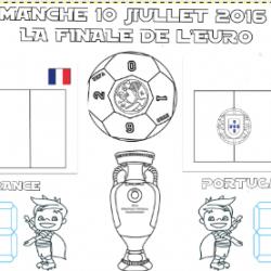 La feuille de match de France Portugal, la finale de l'EURO 2016