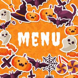 Imprimez gratuitement votre menu d'Halloween pour préparer un repas sur le thème d'Halloween que personne n'oubliera. Il suffira juste d'y inscrire l'entrée, le plat et le dessert : Un menu à imprimer gratuit qu'il vous faut.