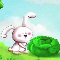 """paroles et vidéo de la comptine """"mon petit lapin"""" à chanter avec les enfants"""