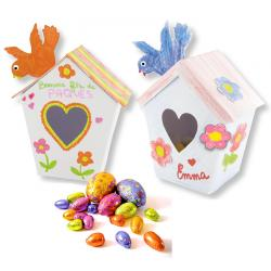 Nichoirs boîte à œufs de Pâques