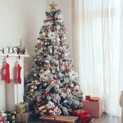 Ange blanc pour un Noël tout blanc