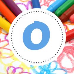 tout le coloriage des prénoms commençant par O comme Océane