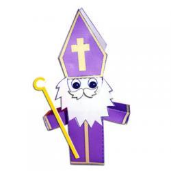 Paper toys saint Nicolas