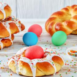 Pâques orthodoxe : au printemps, la fête religieuse la plus importante est la fête de Pâques.